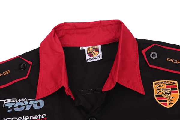 Custom Embroidered Totota F1 Pit Crew Racing Team Shirts