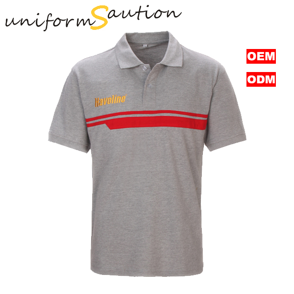 Custom Cotton Corporate Polo Shirt For Oil Company