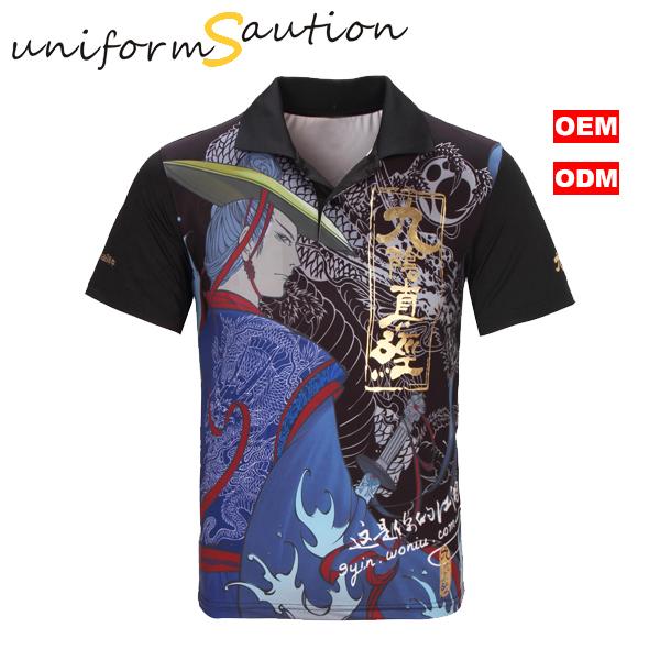 ec29aa0b9 Custom DYE-sublimation printing dryfit polo shirt